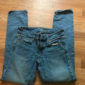 AEO stretch skinny jeans